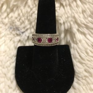 Jewelry - Sterling Silver Ruby ring